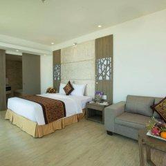Отель Golden Peak Resort & Spa Вьетнам, Камрань - отзывы, цены и фото номеров - забронировать отель Golden Peak Resort & Spa онлайн комната для гостей фото 4