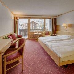 Отель Metropol & Spa Zermatt Швейцария, Церматт - отзывы, цены и фото номеров - забронировать отель Metropol & Spa Zermatt онлайн комната для гостей фото 4