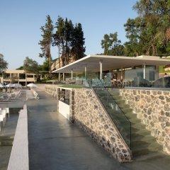 Отель Aeolos Beach Resort All Inclusive Греция, Корфу - отзывы, цены и фото номеров - забронировать отель Aeolos Beach Resort All Inclusive онлайн приотельная территория фото 2
