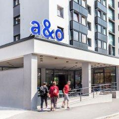 Отель A&O Prague Rhea Прага спортивное сооружение