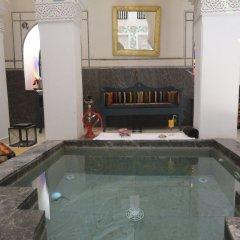 Отель Riad & Spa Ksar Saad Марокко, Марракеш - отзывы, цены и фото номеров - забронировать отель Riad & Spa Ksar Saad онлайн бассейн