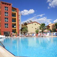 Club Alpina Турция, Мармарис - отзывы, цены и фото номеров - забронировать отель Club Alpina онлайн бассейн