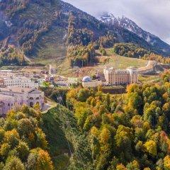 Отель Rixos Krasnaya Polyana Sochi Красная Поляна приотельная территория