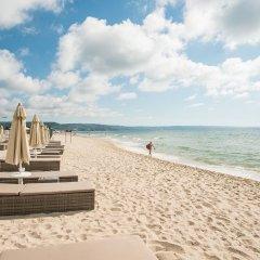 Отель Algara Beach Hotel - All Inclusive Болгария, Кранево - отзывы, цены и фото номеров - забронировать отель Algara Beach Hotel - All Inclusive онлайн пляж фото 2