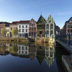 Отель Novotel Mechelen Centrum Бельгия, Мехелен - отзывы, цены и фото номеров - забронировать отель Novotel Mechelen Centrum онлайн приотельная территория