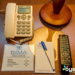 Отель Rolla Residence Hotel Apartment ОАЭ, Дубай - отзывы, цены и фото номеров - забронировать отель Rolla Residence Hotel Apartment онлайн удобства в номере фото 2