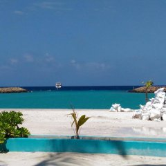 Отель Kurumba Villa пляж фото 2