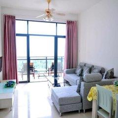 Апартаменты Lezai Lvtu Seaview Holiday Apartment комната для гостей фото 4
