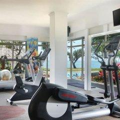 Отель Nikko Bali Benoa Beach Индонезия, Бали - отзывы, цены и фото номеров - забронировать отель Nikko Bali Benoa Beach онлайн фитнесс-зал