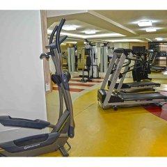 Отель Gran Continental Hotel Бразилия, Таубате - отзывы, цены и фото номеров - забронировать отель Gran Continental Hotel онлайн фитнесс-зал фото 2