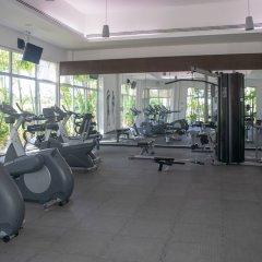 Отель Mareazul Family Beach Condohotel Плая-дель-Кармен фитнесс-зал фото 2