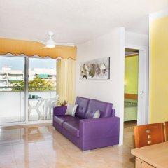 Отель Apartaments Costa d'Or Испания, Калафель - отзывы, цены и фото номеров - забронировать отель Apartaments Costa d'Or онлайн комната для гостей фото 4