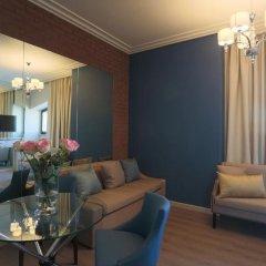 Апартаменты Arbat House Apartment on Nikitsky Bulvar Москва комната для гостей фото 2