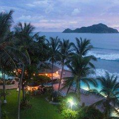 Отель The Palms Resort of Mazatlan пляж фото 2