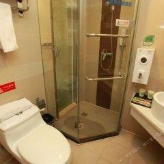 Отель Motel 168 Chengdu ShuangQiao Road Inn Китай, Чэнду - отзывы, цены и фото номеров - забронировать отель Motel 168 Chengdu ShuangQiao Road Inn онлайн ванная фото 2