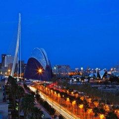 Отель Holiday Inn Express Valencia Ciudad de las Ciencias пляж