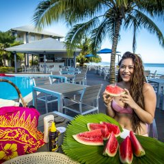 Heritage Park Hotel Honaria in Guadalcanal, Solomon Islands from 431$, photos, reviews - zenhotels.com pool