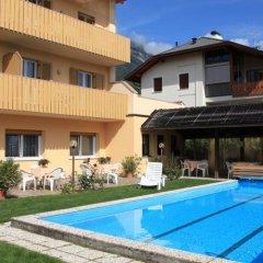 Отель Pensione Penegalblick Аппиано-сулла-Страда-дель-Вино бассейн
