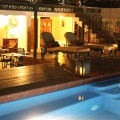 Отель La Pasion Hotel Boutique Мексика, Плая-дель-Кармен - отзывы, цены и фото номеров - забронировать отель La Pasion Hotel Boutique онлайн бассейн фото 3