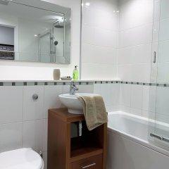 Отель Glasgow Central Apartments Великобритания, Глазго - отзывы, цены и фото номеров - забронировать отель Glasgow Central Apartments онлайн ванная