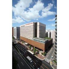 Отель Ana Crowne Plaza Fukuoka Хаката балкон