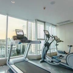 Отель Lancaster Bangkok фитнесс-зал фото 2