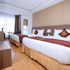 Отель Euro Star Hotel Вьетнам, Нячанг - отзывы, цены и фото номеров - забронировать отель Euro Star Hotel онлайн комната для гостей фото 5