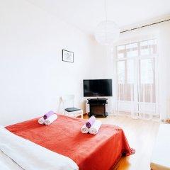 Отель Vip kvartira Leningradskaya 1 3 5 Минск комната для гостей фото 5