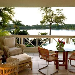 Отель Goblin Hill Villas at San San Ямайка, Порт Антонио - отзывы, цены и фото номеров - забронировать отель Goblin Hill Villas at San San онлайн балкон