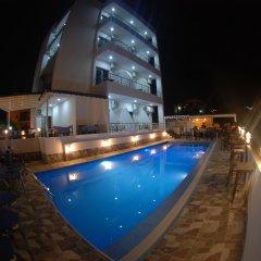 Отель Piramida Албания, Ксамил - отзывы, цены и фото номеров - забронировать отель Piramida онлайн бассейн фото 2