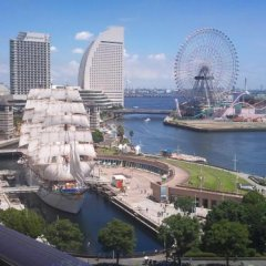Spa & Capsule Hotel GrandPark-Inn Yokohama балкон