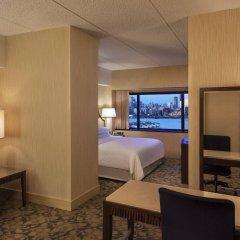 Отель Sheraton Lincoln Harbor Вихокен комната для гостей фото 5