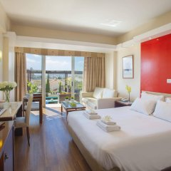 Отель Lordos Beach Кипр, Ларнака - 6 отзывов об отеле, цены и фото номеров - забронировать отель Lordos Beach онлайн комната для гостей фото 4