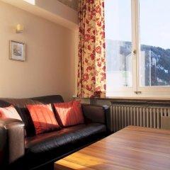 Отель Alpina Швейцария, Давос - отзывы, цены и фото номеров - забронировать отель Alpina онлайн комната для гостей фото 3