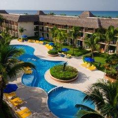 Отель The Reef Coco Beach Плая-дель-Кармен балкон