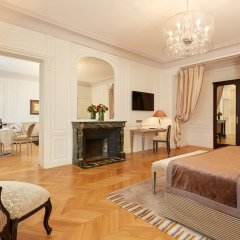 Отель Majestic Apartments Champs Elysées Франция, Париж - отзывы, цены и фото номеров - забронировать отель Majestic Apartments Champs Elysées онлайн комната для гостей фото 4