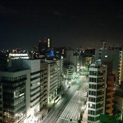 Отель APA Hotel Higashi-Nihombashi-Ekimae Япония, Токио - отзывы, цены и фото номеров - забронировать отель APA Hotel Higashi-Nihombashi-Ekimae онлайн балкон