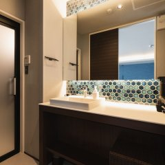Отель GRAND BASE Beppu Ekihigashi Беппу ванная