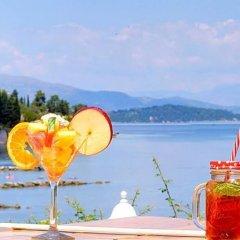 Отель Aurora Hotel Греция, Корфу - 1 отзыв об отеле, цены и фото номеров - забронировать отель Aurora Hotel онлайн бассейн фото 5