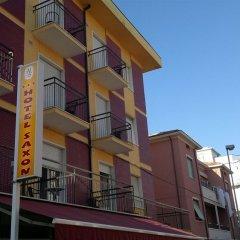 Отель Saxon Италия, Римини - 1 отзыв об отеле, цены и фото номеров - забронировать отель Saxon онлайн вид на фасад