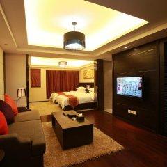 Апартаменты Chengdu Jianian CEO Apartment комната для гостей фото 4
