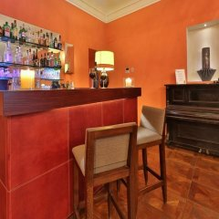 Отель Piemontese Бергамо гостиничный бар