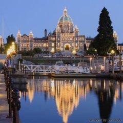 Отель The Parkside Hotel & Spa Канада, Виктория - отзывы, цены и фото номеров - забронировать отель The Parkside Hotel & Spa онлайн приотельная территория