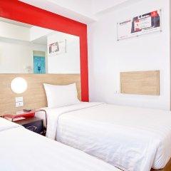 Отель Red Planet Manila Mabini Филиппины, Манила - 1 отзыв об отеле, цены и фото номеров - забронировать отель Red Planet Manila Mabini онлайн комната для гостей фото 3