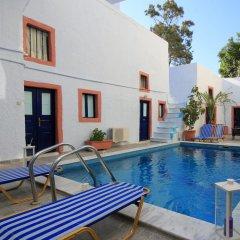 Отель Leta-Santorini Греция, Остров Санторини - отзывы, цены и фото номеров - забронировать отель Leta-Santorini онлайн бассейн