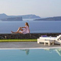 Отель Santorini Princess Presidential Suites Греция, Остров Санторини - отзывы, цены и фото номеров - забронировать отель Santorini Princess Presidential Suites онлайн бассейн фото 2