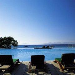 Отель Sunprime Miramare Park Suites and Villas Греция, Родос - отзывы, цены и фото номеров - забронировать отель Sunprime Miramare Park Suites and Villas онлайн бассейн фото 2