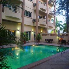 Отель Park Inn by Radisson, Lagos Victoria Island вид на фасад