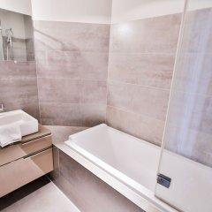Отель Royal Apartments Botanique Бельгия, Брюссель - отзывы, цены и фото номеров - забронировать отель Royal Apartments Botanique онлайн ванная