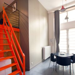 Отель L'imprimerie - Appartements Hotel Франция, Лион - отзывы, цены и фото номеров - забронировать отель L'imprimerie - Appartements Hotel онлайн комната для гостей фото 2